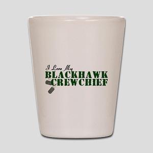 Love My Blackhawk Shot Glass