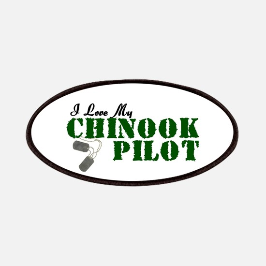 I Love My Chinook Pilot Patches