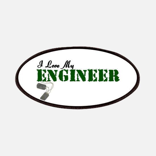 I Love My Engineer Patches