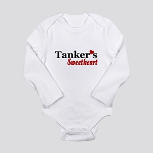 Tanker's Sweetheart Long Sleeve Infant Bodysuit
