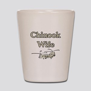 Chinook Wife Shot Glass