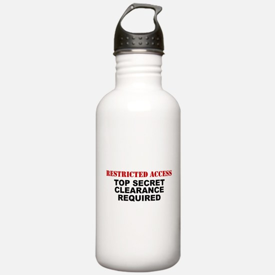 Restricted Access Water Bottle