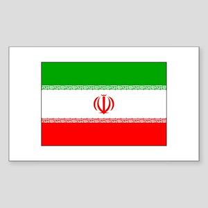Flag of Iran Rectangle Sticker