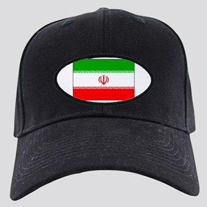 Flag of Iran Black Cap