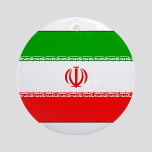 Flag of Iran Ornament (Round)