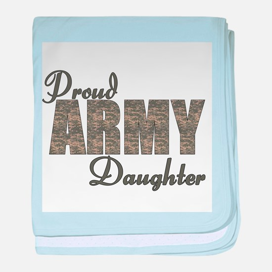 ACU Army Daughter baby blanket