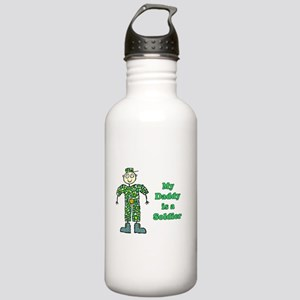 My Daddy is a Soldier Stainless Water Bottle 1.0L