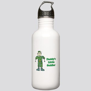 Daddy's Little Soldier Stainless Water Bottle 1.0L