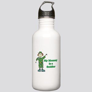 My Mommy is a Soldier Stainless Water Bottle 1.0L