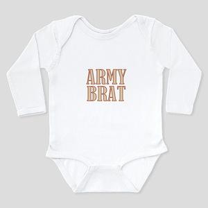 Army Brat Camo Long Sleeve Infant Bodysuit