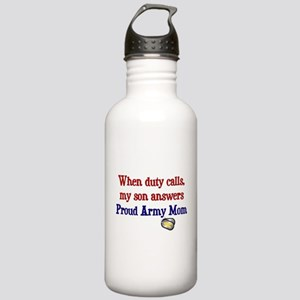 When Duty Calls - Mom Stainless Water Bottle 1.0L