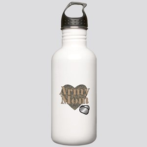 Army Mom (ACU Heart) Stainless Water Bottle 1.0L