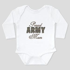ACU Army Mom Long Sleeve Infant Bodysuit