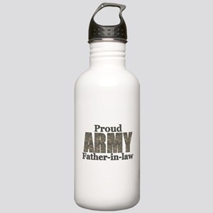 Proud Father-in-law (ACU) Stainless Water Bottle 1