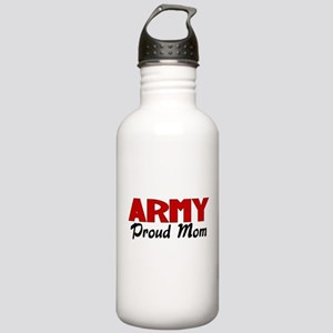 Army Mom (red) Stainless Water Bottle 1.0L
