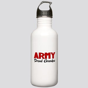 Army Grandpa (red) Stainless Water Bottle 1.0L