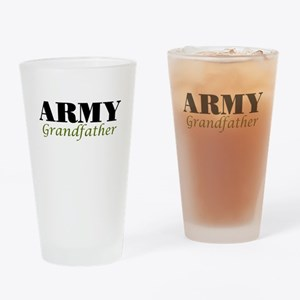 Army Grandfather Drinking Glass
