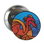 Medieval Stained Glass Dragon 2.25