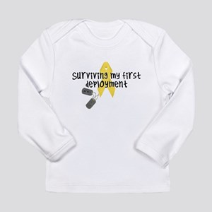 First Deployment (Army) Long Sleeve Infant T-Shirt