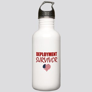 Deployment Survivor Stainless Water Bottle 1.0L