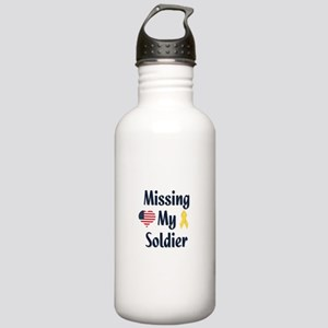 Missing My Soldier Stainless Water Bottle 1.0L