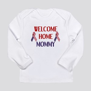 Welcome Home Mommy - Ribbon Long Sleeve Infant T-S