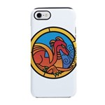 Medieval Stained Glass Dragon iPhone 7 Tough Case