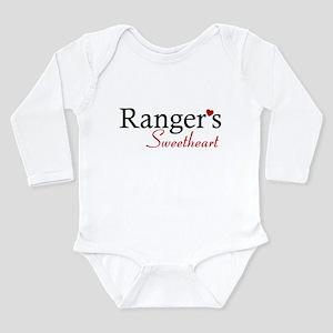 Ranger's Sweetheart Long Sleeve Infant Bodysuit