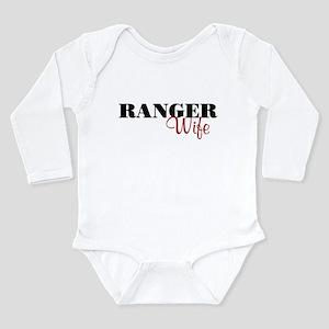Ranger Wife Long Sleeve Infant Bodysuit