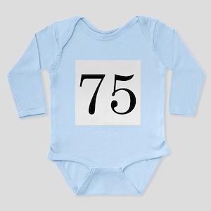 Ranger Wife 75 Long Sleeve Infant Bodysuit