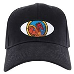 Medieval Stained Glass Dragon Baseball Hat