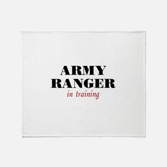 Ranger in Training Throw Blanket