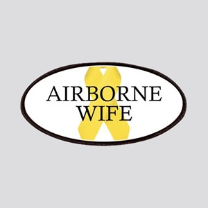 Airborne Wife Ribbon Patches