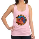 Medieval Stained Glass Dragon Tank Top