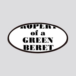 Property of a Green Beret Patches