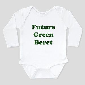 Future Green Beret Long Sleeve Infant Bodysuit