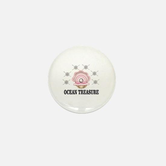 ocean treasure of sea Mini Button
