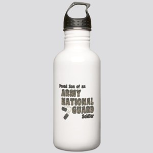 National Guard Son (tags) Stainless Water Bottle 1