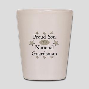 Proud Son National Guard Shot Glass