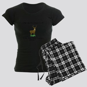 New Deer Call Women's Dark Pajamas