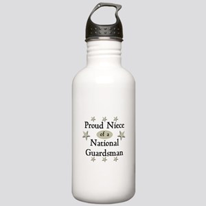 Proud Niece National Guard Stainless Water Bottle