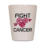 Fight Cancer Shot Glass