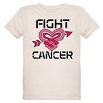 Fight Cancer Organic Kids T-Shirt