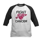 Fight Cancer Kids Baseball Jersey