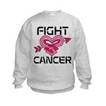 Fight Cancer Kids Sweatshirt
