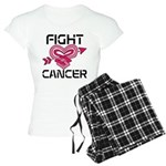 Fight Cancer Women's Light Pajamas
