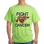 Fight Cancer Green T-Shirt