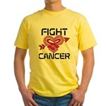 Fight Cancer Yellow T-Shirt