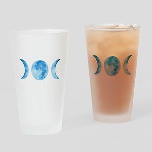 Three Phase Moon Drinking Glass