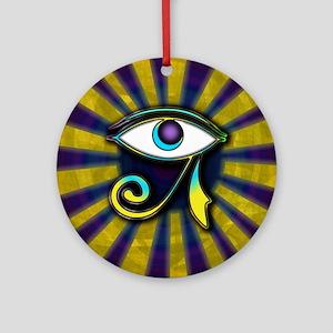 Eye of Osiris Ornament (Round)